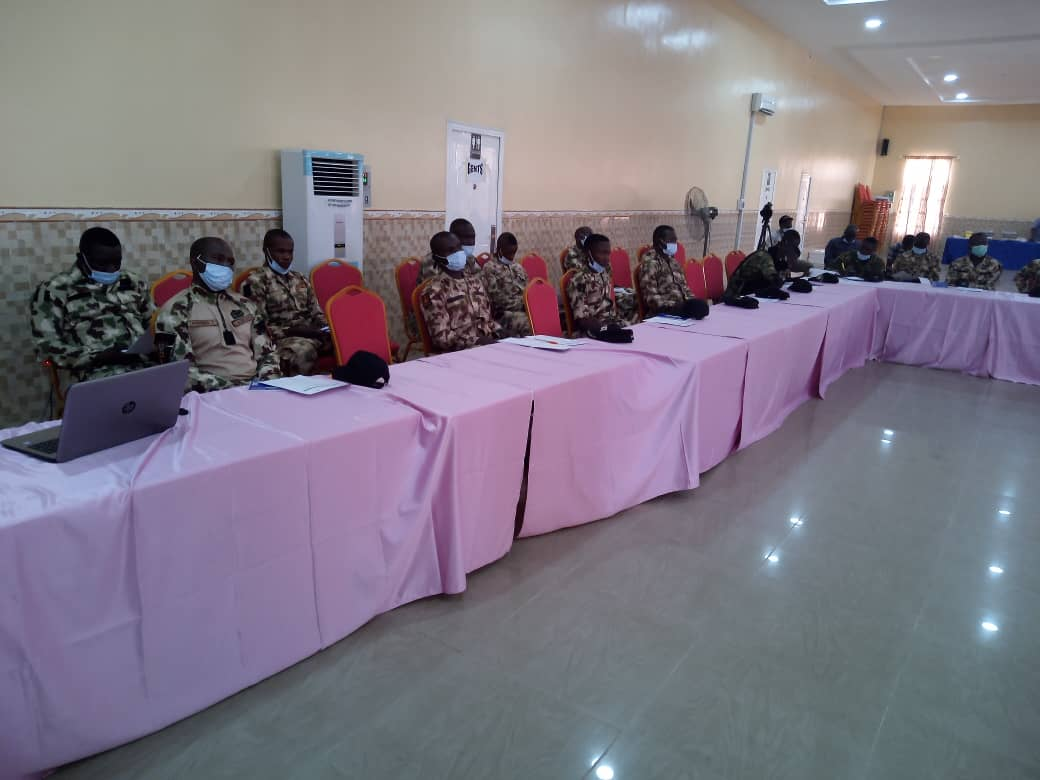 Training of security personnel in Yobe state on Human Rights and Humanitarian Principles and Civilian Protection